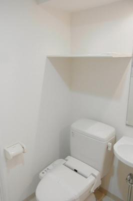 【トイレ】スカイコート三田慶大前壱番館
