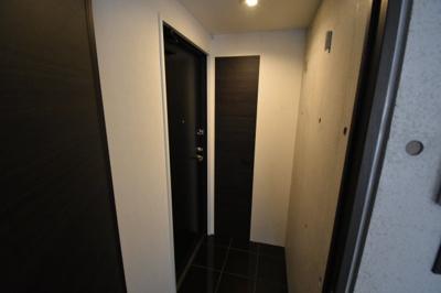 広めの玄関スペースです