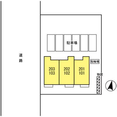【区画図】ウェストボヌール