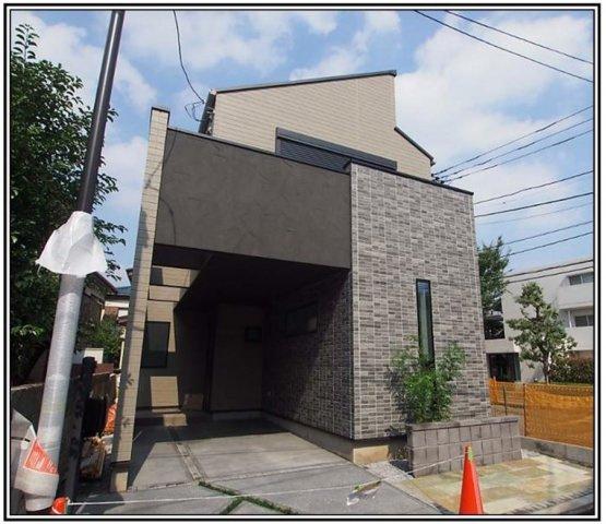 【外観】仲介手数料無料 練馬区向山4丁目新築一戸建て