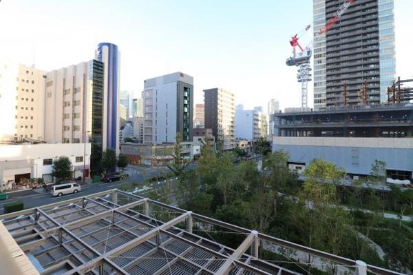 【物件からの展望】都会の中でも緑を感じることが出来るタワーマンションです◎