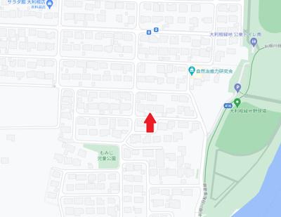 【地図】高崎市萩原町の中古戸建