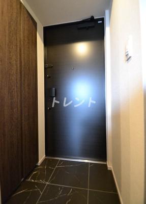 【玄関】ザパークハビオ代々木初台