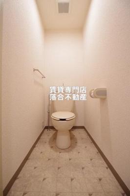【トイレ】ファミールクレストコート