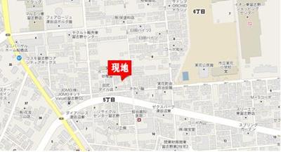 【地図】アピア泉Ⅱ