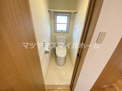 【トイレ】OKハイツ大東1号館