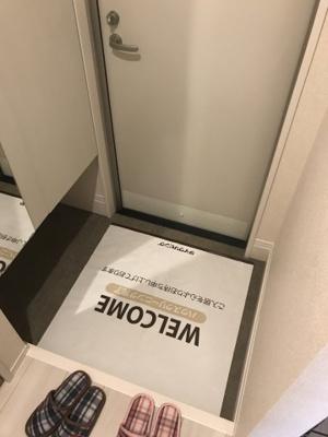 【玄関】ヴェルドミールA棟