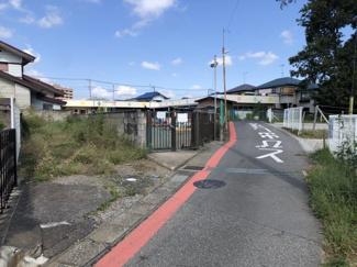 千葉市中央区川戸町 土地 鎌取駅 車通りは少ないので駐車も安心です!