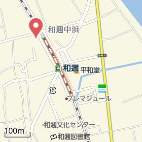 【地図】タウンハウスエバーグリーン