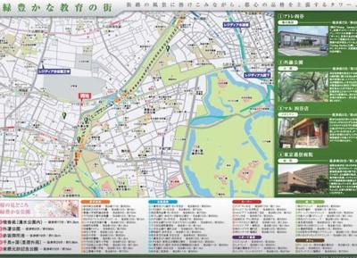 【地図】レジディア市谷