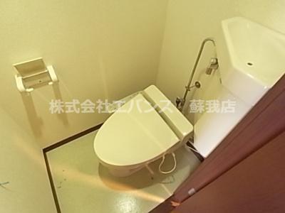 【トイレ】ルーラル十五番館