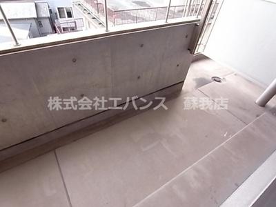 【バルコニー】ルーラル十五番館
