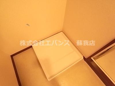 【洗面所】ルーラル十五番館