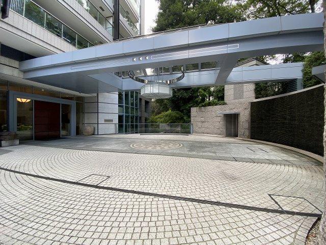【エントランス】パークマンション三田綱町ザフォレスト