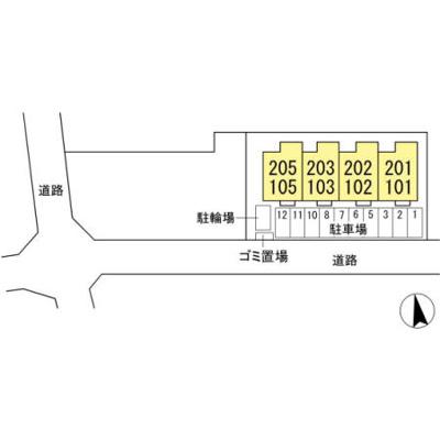 【区画図】仮)D-room高野山