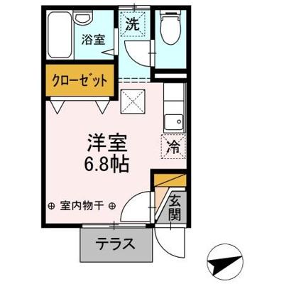 【区画図】モナリエ柏