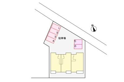 【駐車場】パニエ・ド・フルール