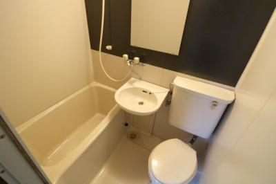 【浴室】コーポ取手