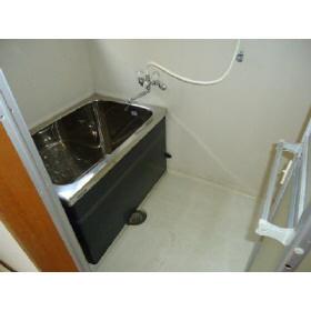 【浴室】コーポ蘭AB