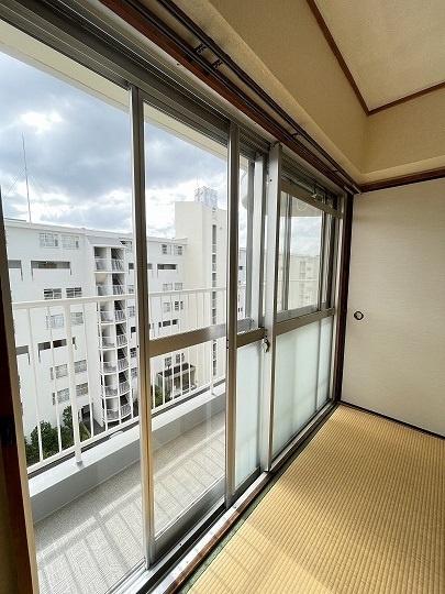 和室6帖からの眺望