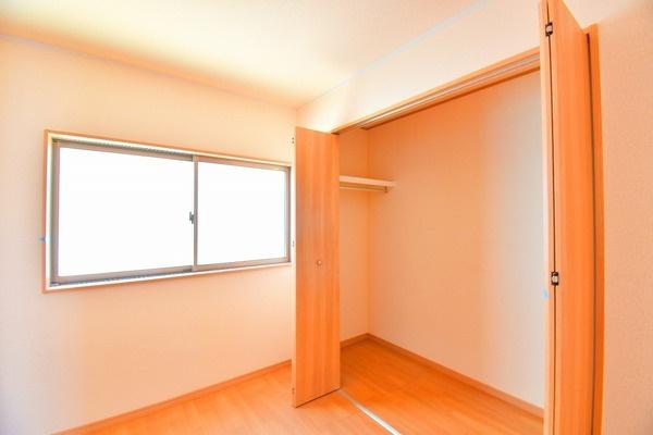 各室収納付きです これだけ収納があると助かりますね!