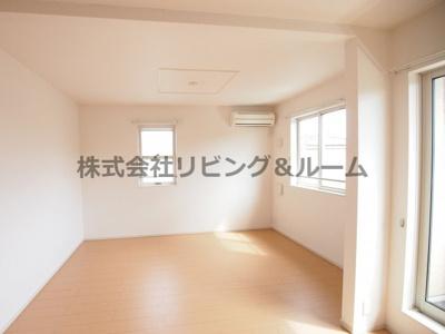 【居間・リビング】ジャムタウン W棟