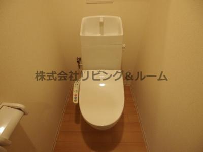 【トイレ】エルマーナ Ⅲ棟
