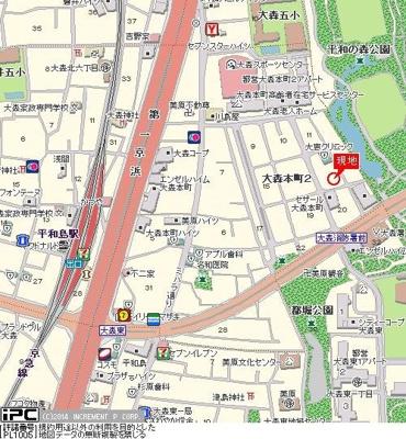【地図】GC大森本町