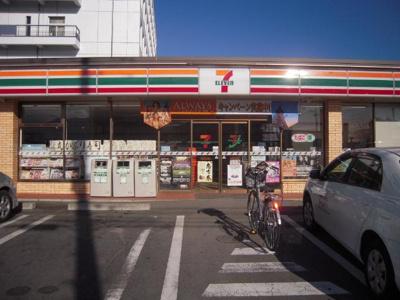 セブンイレブン昭和町NTT前店まで529m