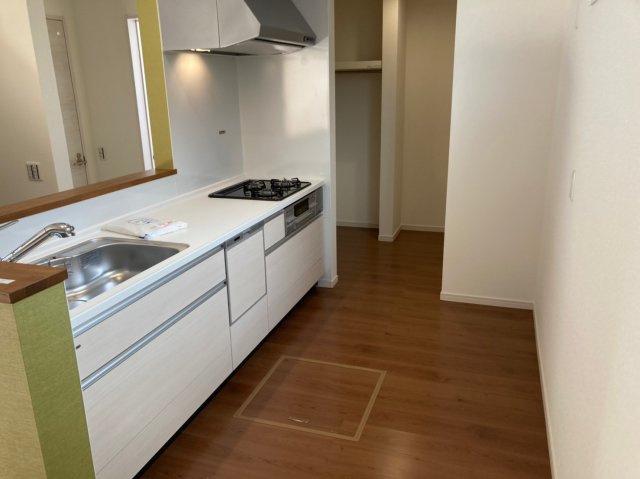 【キッチン】デザイン住宅「FIT」糸島市加布里1期2号棟 4LDK