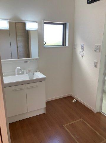 【独立洗面台】デザイン住宅「FIT」糸島市加布里1期2号棟 4LDK