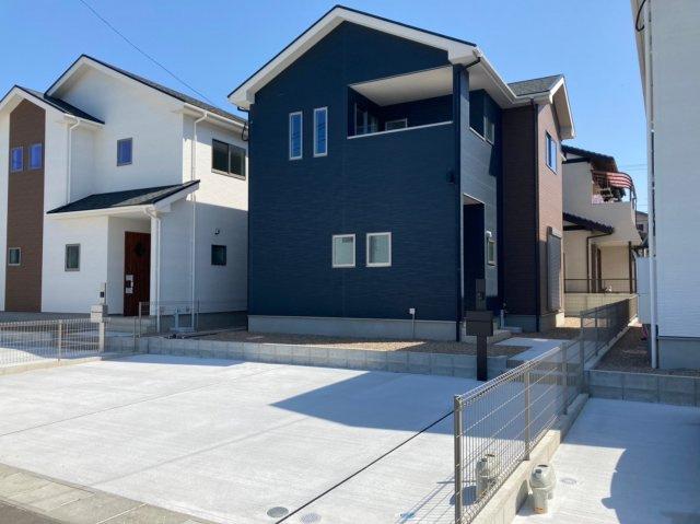 【外観】デザイン住宅「FIT」糸島市加布里1期2号棟 4LDK