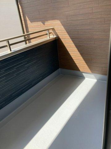【バルコニー】デザイン住宅「FIT」糸島市加布里1期2号棟 4LDK