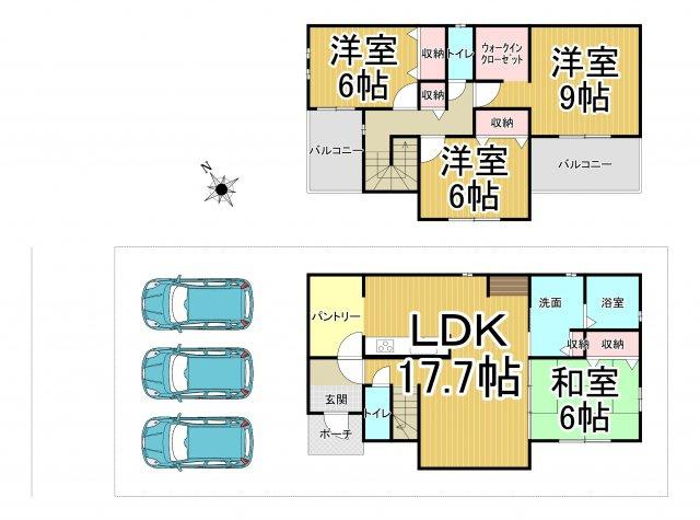 デザイン住宅「FIT」糸島市加布里1期2号棟 4LDK