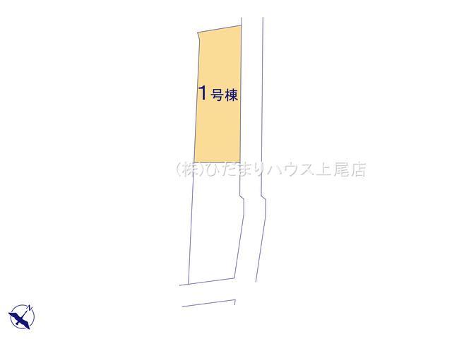 【区画図】鴻巣市大間 新築一戸建て リーブルガーデン 01