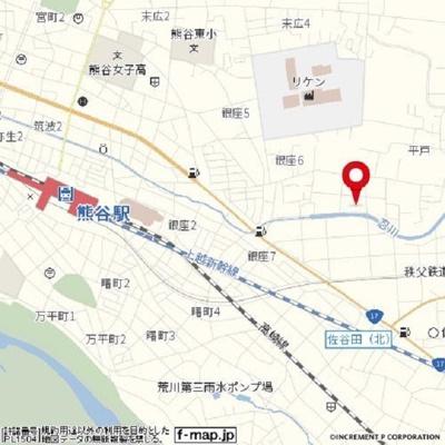 【地図】マンションタカノ