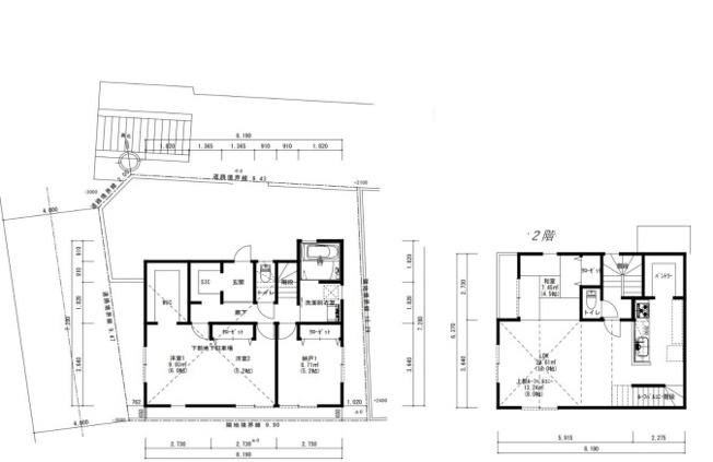 【参考プラン】神奈川区神大寺2丁目 土地 建築条件なし