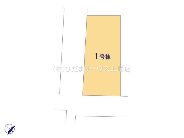 【区画図】鴻巣市雷電 新築一戸建て グラファーレ 01