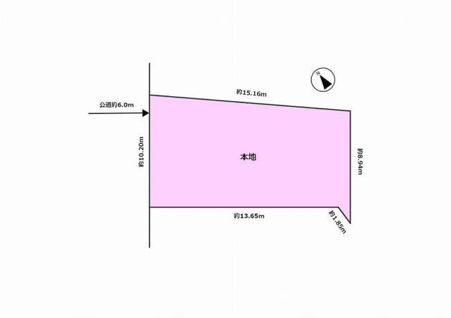 【土地図】杉並区和泉2丁目 売地