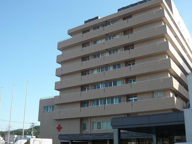 赤十字病院まで1100m