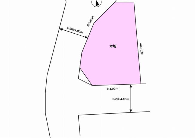 【土地図】中野区中野3丁目 売地