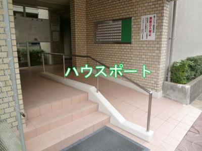 【エントランス】ユニ宇治マンション3号館