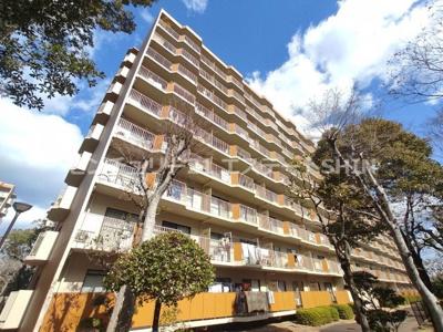 【外観】白川高層住宅6号棟  中古マンション