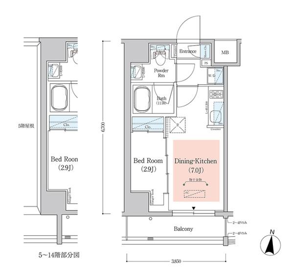 アーバネックス西新宿Ⅱ