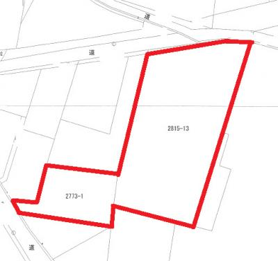 【区画図】貸地 飯野670.60坪