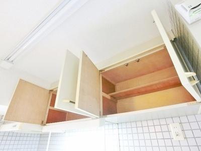 キッチン上部棚