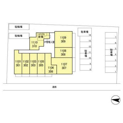 【区画図】フェリス コート