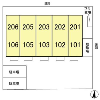 【区画図】グランモア八柱