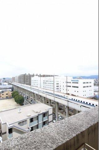 新幹線がお部屋から見えます♪