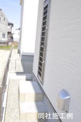 【外観:施工例】加東市下滝野2期-3号棟